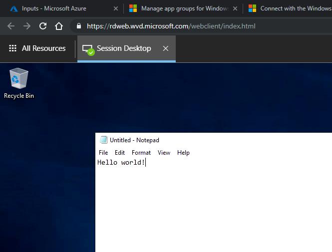 Windows Virtual Desktop – First Thoughts – Part 1 – wedoAzure